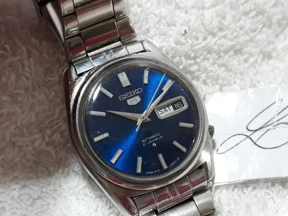 Relógio Seiko 6119, Masculino - Anos 70 (azl) !