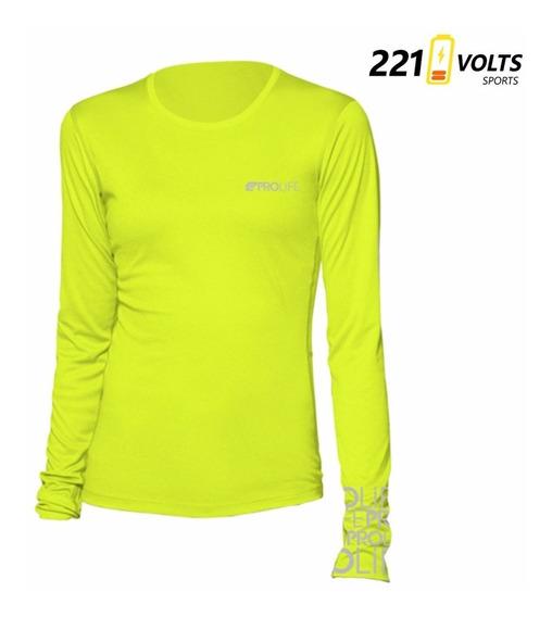 Blusa Proteção Solar Uv50 Prolife Feminina