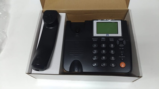 Telefone Fixo Zte Novo Completo Digital Barato Wp623 Origina