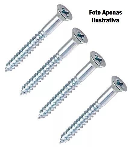 Imagem 1 de 1 de 200 Parafuso Madeira Philips 45 X 65  - 22670
