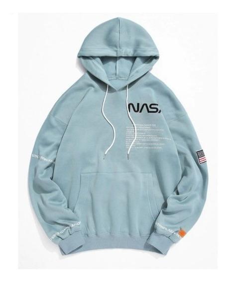 Blusa Moletom Nasa Astronauta Usa Streetwear Trust