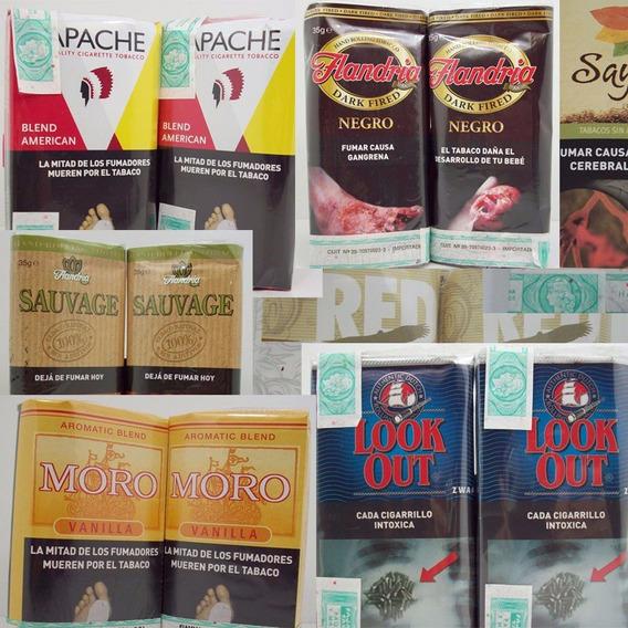 Lote De Tabacos Para Armar Cigarrillos - Precios Congelados