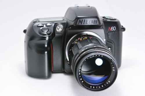 Câmera Analógica Nikon N60 (corpo) Padrão Colecionador
