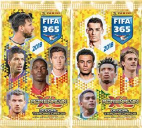 Fifa 365 2018 Coleção Base Completa Adrenalyn Panini Cards