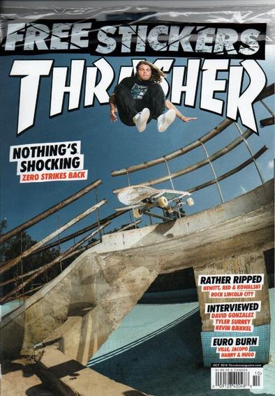 Thrasher Revista De Pistas, Skatistas E Entrevistas