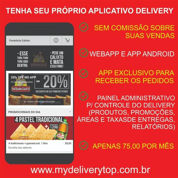 Aplicativo Delivery | App | Pedidos Online | Leia Descrição