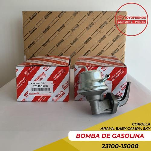 Bomba Gasolina Mecanica Corolla Baby Camry Araya Original