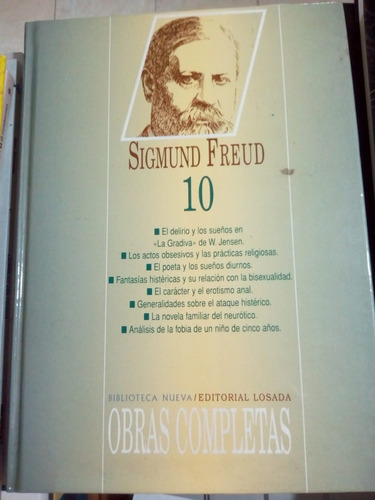 Obras Completas 10 - Freud - Losada 1997 - T. D. - U