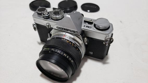 Câmera Olympus Om1 + Lente Zuiko 50mm - Frete Grátis