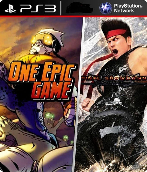 Virtua Fighter 5 Final Showdown +um Epiic Game Ps3 Digital