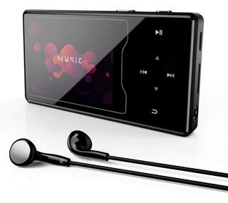 Mp3 Mp4 Radio Grabador Bluetooth Hasta 128gb + Auriculares
