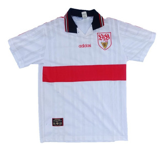 Camisa Stuttgart Alemanha adidas 1997-1998