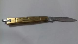 Canivete Dourado Colon Inox
