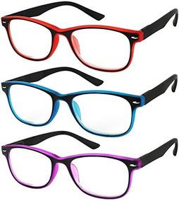 897652097d Gafas De Lectura Juego De 3 Bisagras De Resortes Comfort 3 C