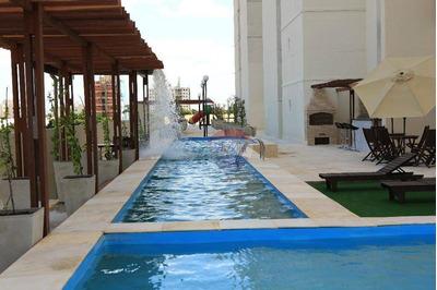 Apartamento Vista Mar No Edifício Mais Alto De Fortaleza - Ap0062