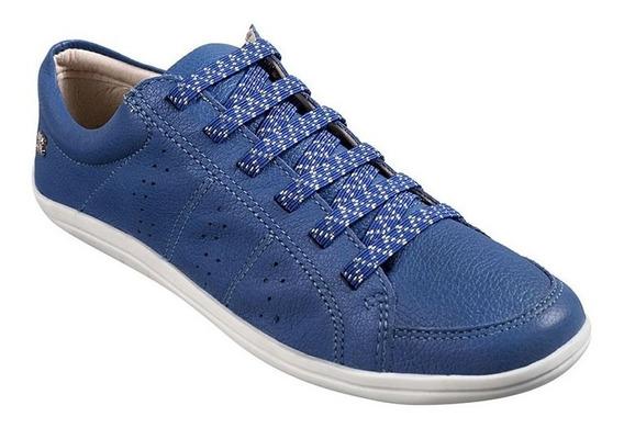Tênis Feminino Bottero Couro New Floater Jeans - 277102
