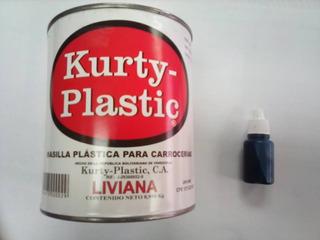 Masilla Plastica Para Carroceria 1/4 + Catalizador
