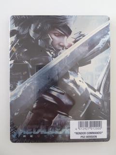 Metal Gear Rising - Steelbook Commando Ps3 - Nuevo Sellado