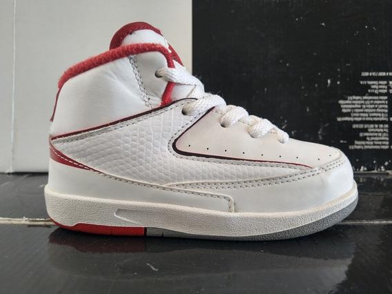 Jordan 2 Chicago (14cm) Retro Zoom Bred Playoffs Mvp Og