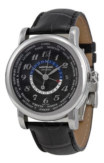 Relógio Montblanc 104646 Star Collection Automatico W Time