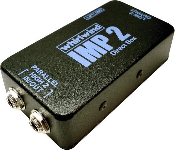 Direct Box Passivo Whirlwind Imp2 Original Uso Profissional