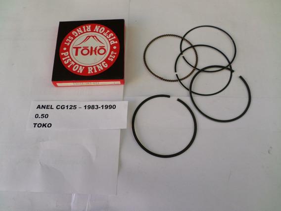 Anel Pistao Honda Cg125 - 83/90 - 0,50 - Toko