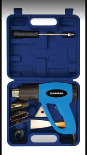 Pistola De Calor En Kit 2000w 300º/550ºc + Accesorios Gamma