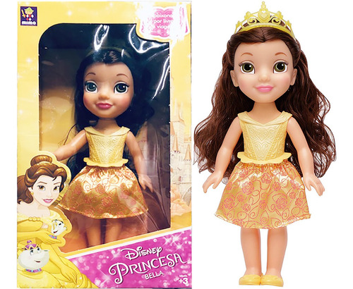 Muneca Bella Princesa 30cm Original Disney Pce 6365 Bigshop