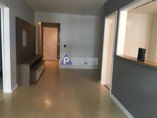 Apartamento À Venda, 2 Quartos, 1 Suíte, 1 Vaga, Botafogo - Rio De Janeiro/rj - 21961