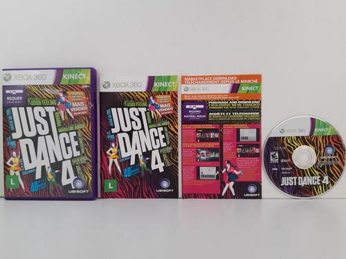 Just Dance 4 Completo Xbox 360 Midia Física Original
