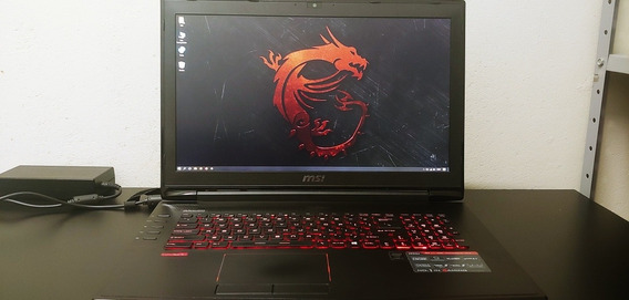 Notebook Gamer Msi Gt72 2qe Dominator Pro G