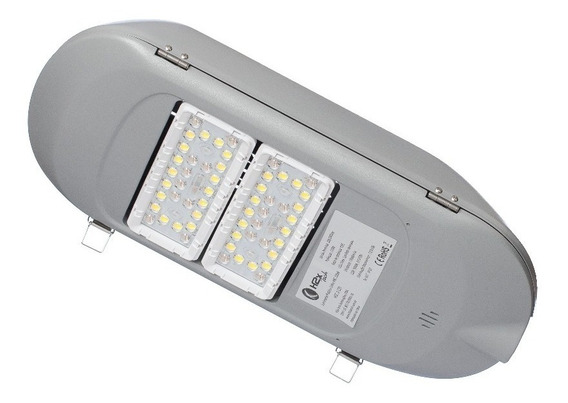 Luminária Pública Led 60w Real - 5 Anos Garantia