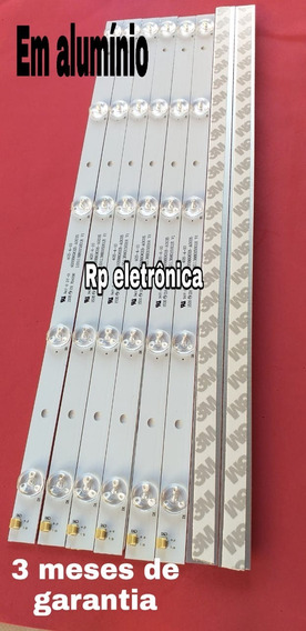 8 Barras De Led Philco Ph40r86dsgw Para Tv 40 Polegadas