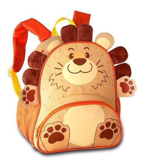 Mochila Infantil Animais Zoo Original Clio Pets Frete - Leão