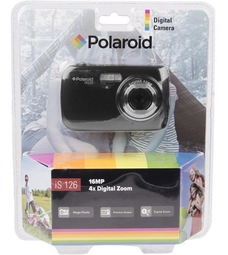 Camara Digital Polaroid Is126 16mp Zoom 4x + Sd 16gb Sandisk