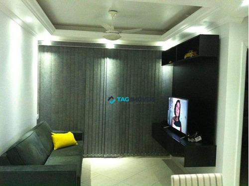 Apartamento Com 2 Dormitórios À Venda, 78 M² Por R$ 299.000,00 - Chácara Da Barra - Campinas/sp - Ap1457