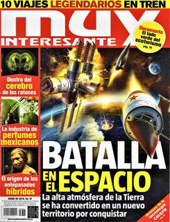 Muy Interesante - Enero De 2019, No. 1 Batalla En El Espacio