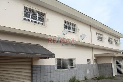 Imagem 1 de 25 de Prédio Para Alugar, 243 M² - Vila Mogilar - Mogi Das Cruzes/sp - Pr0009