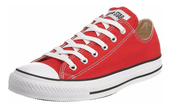 Tenis Converse All Star Ox Red/white Original