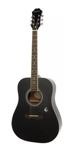 Guitarra Acustica EpiPhone Dr100 Ebony Dealer Autorizado