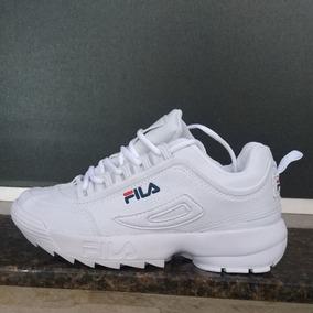 encanto de costo estilo exquisito tienda de liquidación Zapatillas Fila Blancas Disruptor Hombre - Ropa y Accesorios ...