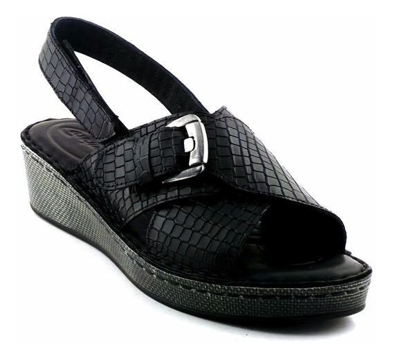 Sandalia Cuero Mujer Cavatini Zapato Confort Mcsd04517 45