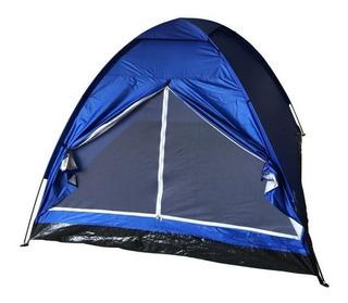 Barraca 4 Pessoas 2 X 2m Master Camping - Azul