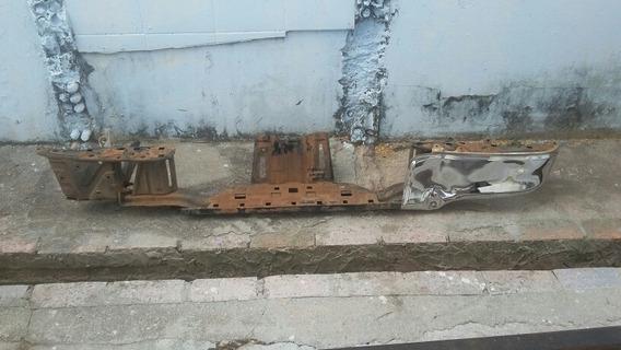 Parachoque Choque Traseiro Hilux 2016 A 2019 Usado Amassado