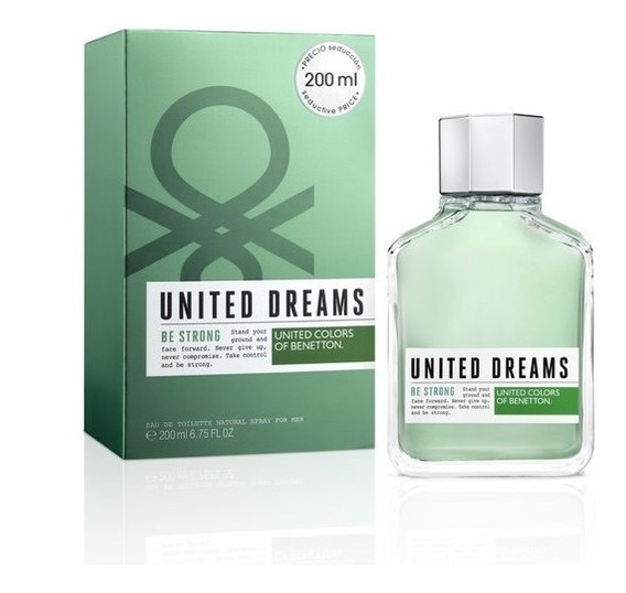 Perfume Masculino Benetton United Dreams Be Strong 200ml