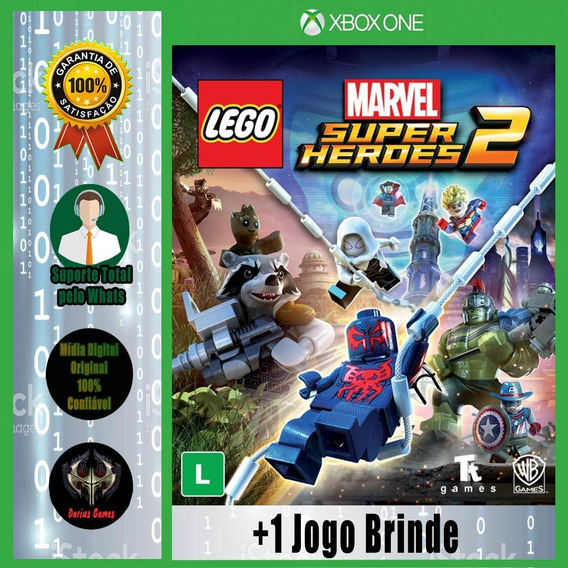 Lego Marvel Super Heroes 2 Xbox One Mídia Digital +1 Jogo