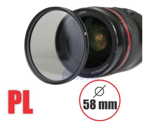 Filtro Polarizador Circular 58mm - Greika