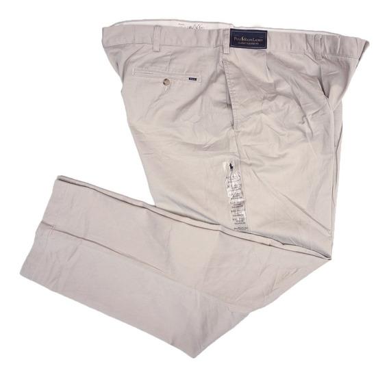 Pantalon Ralph Lauren 48 50 Corte Clasico Con Pizas