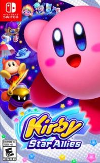 Kirby Star Allies Nintendo Switch Nuevo