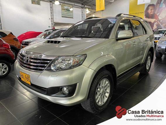 Toyota Fortuner Srv Automatico 4x4 Diesel